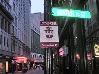 Locke-Ober sign