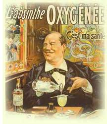 Absinthe Oxygenee poster
