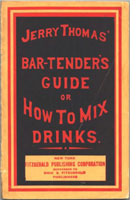Jerry Thomas book
