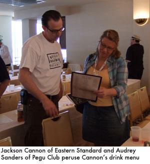 Jackson Cannon & Audrey Sanders