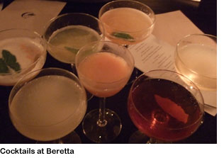 Beretta cocktails
