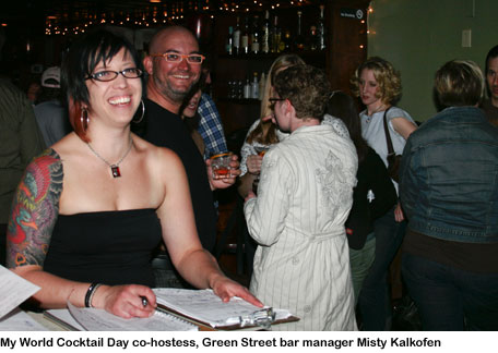 Misty Kalkofen, bar manager of Green Street