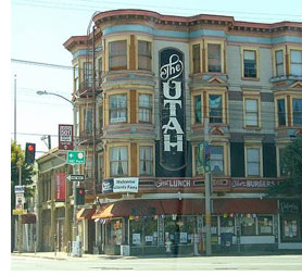 The Hotel Utah Saloon, San Francisco