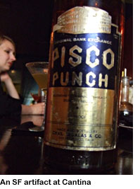 Pisco Punch at Cantina, San Francisco