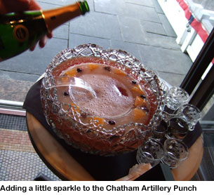 Eastern Standard Flowing Bowl Punch Party - Chatham Artillery Punch