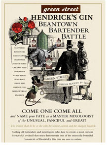 Hendrick's Beantown Bartender Battle