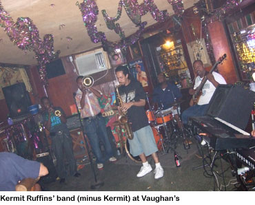 Kermit Ruffins band at Vaughan's