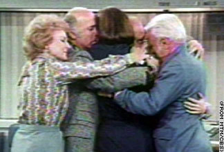 Group hug - Mary Tyler Moore finale