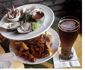 Beer & shellfish shindig