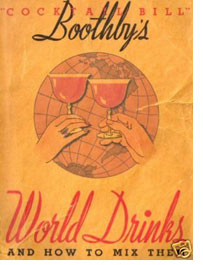 Boothby's World Drinks & How to Mix Them