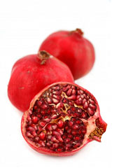 Pomegranates — grenadine's key ingredient