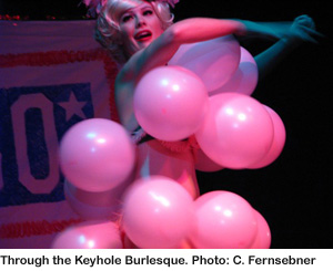Through the Keyhole Burlesque - LUPEC Boston USO Show