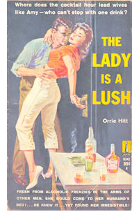 The Lady is a Lush - pulp novel