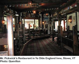Ye Olde England Inne, Stowe, VT