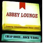 Abbey Lounge Somerville - sign
