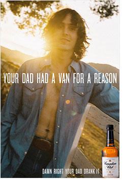CC ad with van