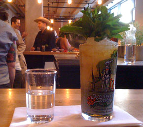A Mint Julep at Drink