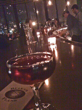 Norwegian Negroni at Beaker and Flask
