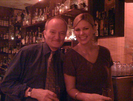 Murray and his co-worker Sabrina Ross at the ZigZag.