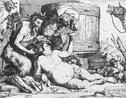 fat-silenus-drinking