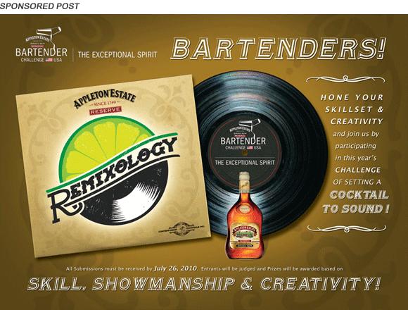 remixology bartender challenge appleton rum